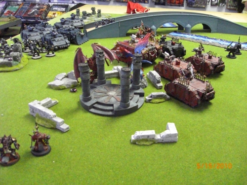Chaos Daemons claim the Objective.