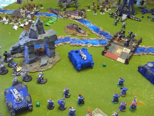 Ultramarines vs. Daemons