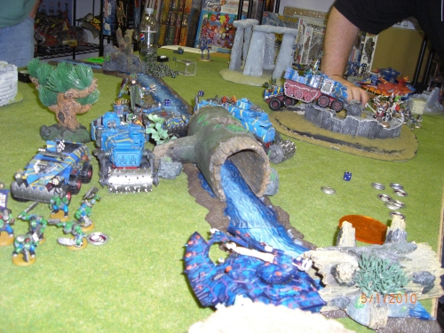 more Eldar vs. Orks