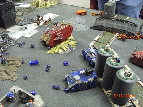 Ultramarines vs. Chaos Marines